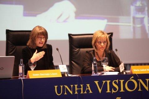 Belén Bermejo López, doutora en Dereito  - Congreso sobre Unha Visión Xuridica do Camiño de Santiago